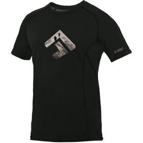 Directalpine Furry 1.0 Miehet Lyhythihainen paita , musta